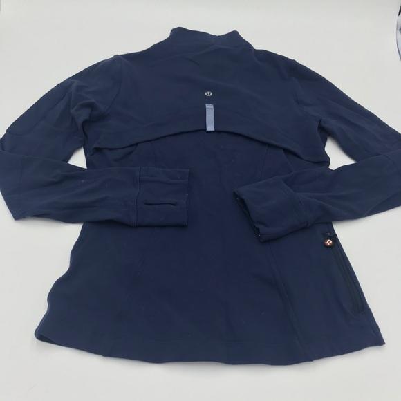 LULULEMON | Navy blue 'Define' type zip up jacket